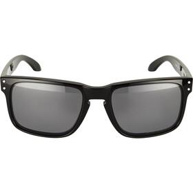 Oakley Holbrook Gafas ciclismo, polished black/grey polarized